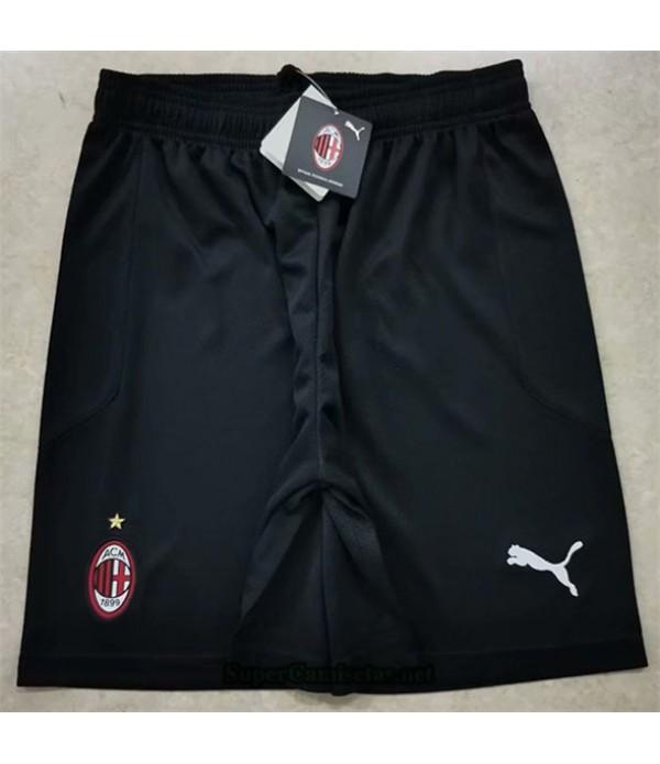 Tailandia Pantalones Segunda Equipacion Camiseta Ac Milan Negro