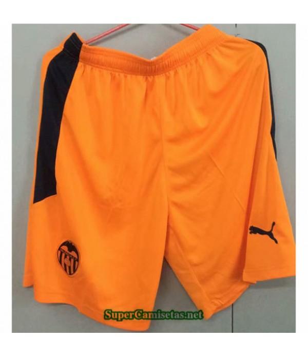 Tailandia Pantalones Segunda Equipacion Camiseta Valencia 2020/21