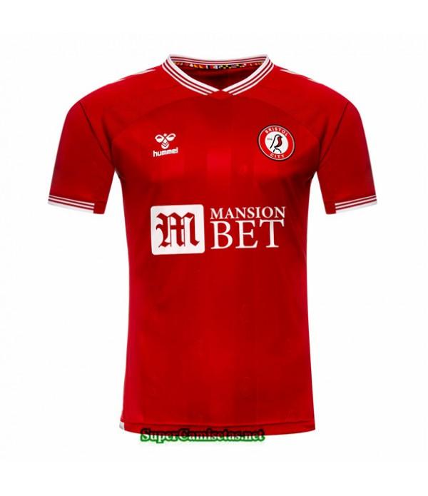 Tailandia Primera Equipacion Camiseta Bristol City 2020/21