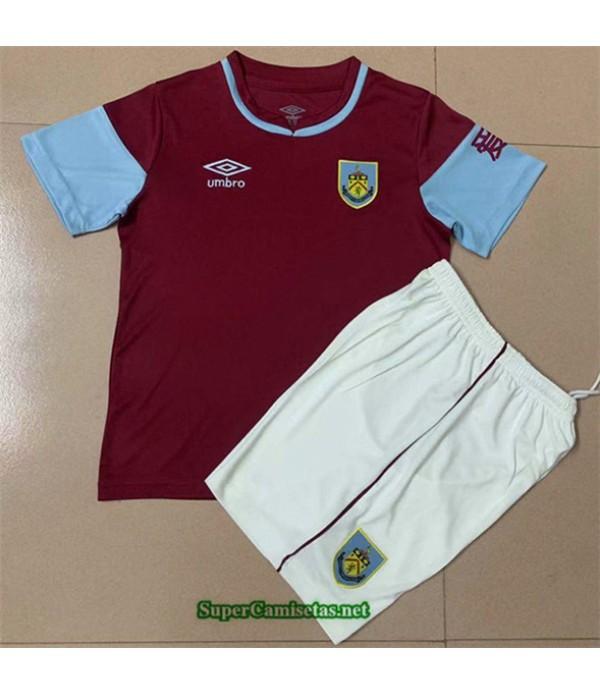 Tailandia Primera Equipacion Camiseta Burnley Niño 2020/21