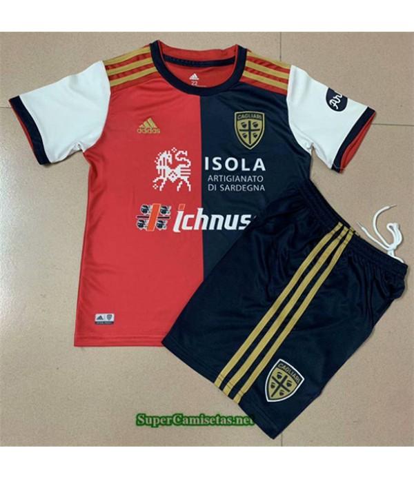 Tailandia Primera Equipacion Camiseta Cagliari Niño 2020/21