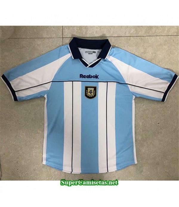 Tailandia Primera Equipacion Camiseta Clasicas Argentina Hombre 2000 01