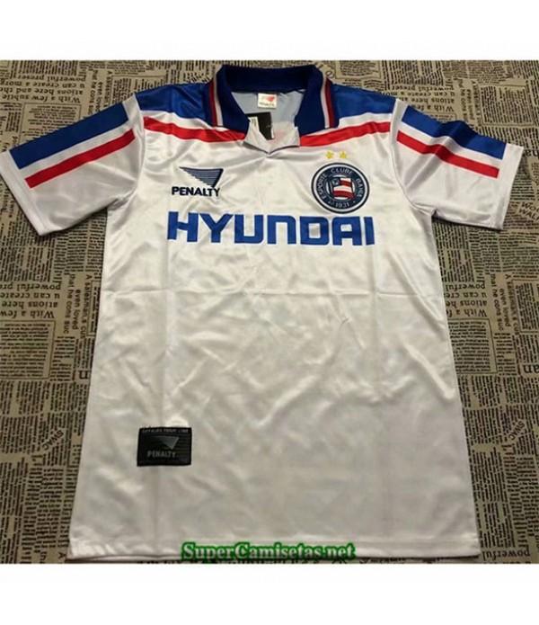 Tailandia Primera Equipacion Camiseta Clasicas Bahia Hombre 1998 99