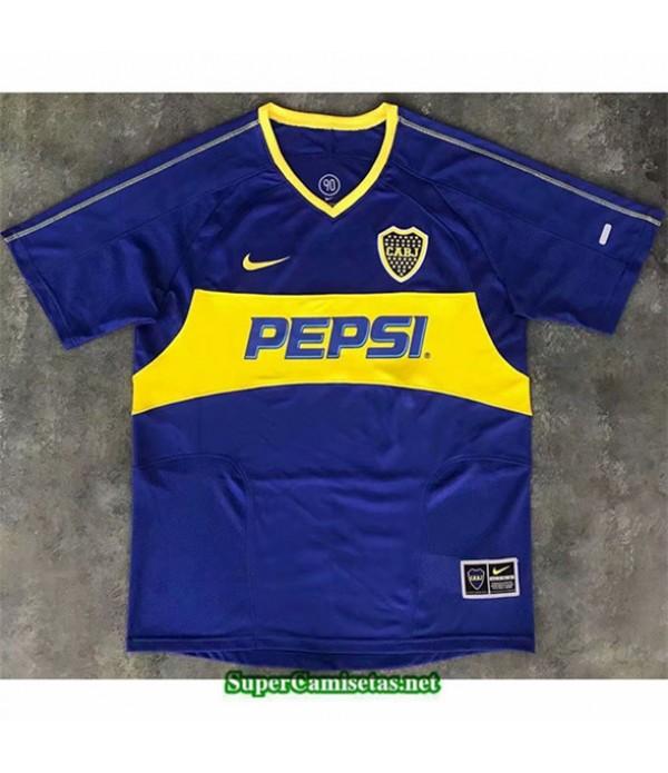 Tailandia Primera Equipacion Camiseta Clasicas Boca Juniors Hombre 2003 04