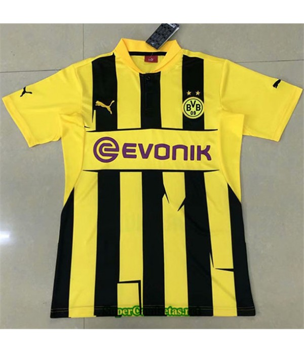 Tailandia Primera Equipacion Camiseta Clasicas Borussia Dortmund Hombre 2012 13