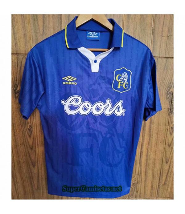 Tailandia Primera Equipacion Camiseta Clasicas Chelsea Hombre 1997 98