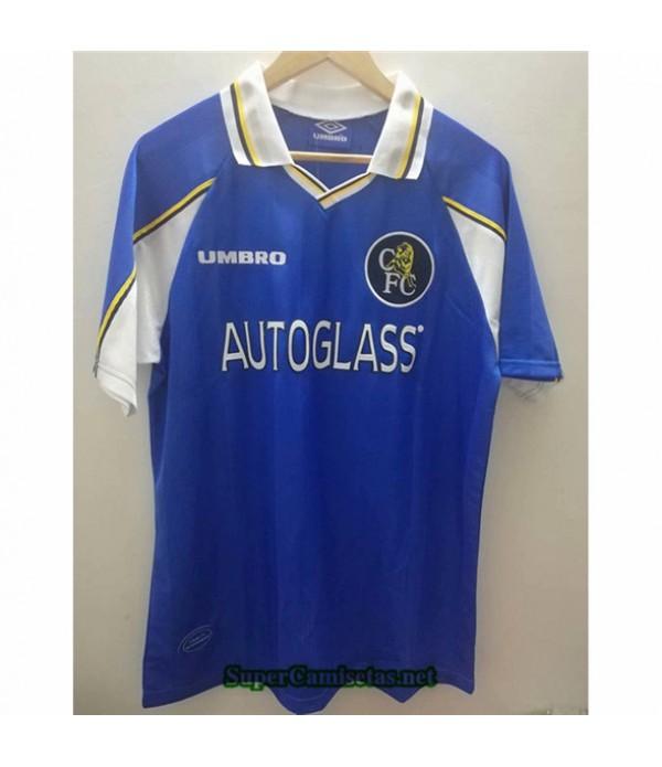 Tailandia Primera Equipacion Camiseta Clasicas Chelsea Hombre 1997 99