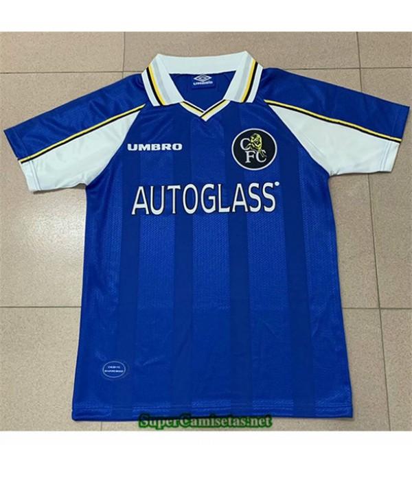 Tailandia Primera Equipacion Camiseta Clasicas Chelsea Hombre 1998