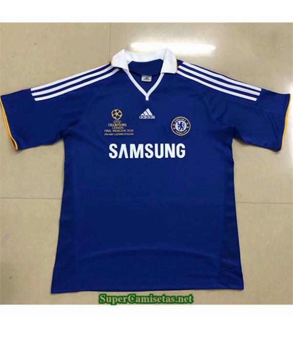 Tailandia Primera Equipacion Camiseta Clasicas Chelsea Hombre Champions League 2007 08