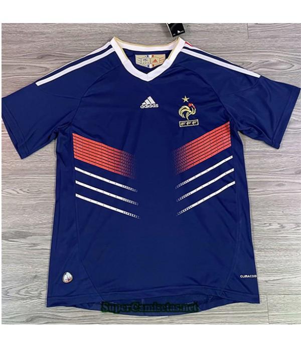 Tailandia Primera Equipacion Camiseta Clasicas Francia Hombre 2010