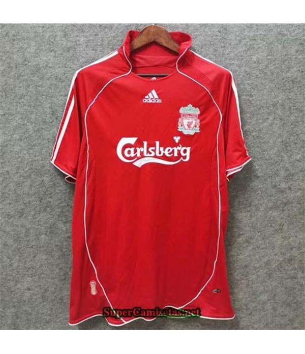 Tailandia Primera Equipacion Camiseta Clasicas Liverpool Hombre 2006 08