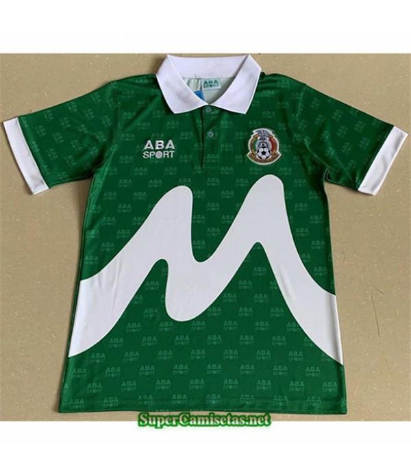 Tailandia Primera Equipacion Camiseta Clasicas México Hombre 1995