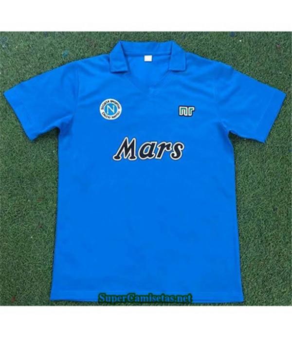 Tailandia Primera Equipacion Camiseta Clasicas Napoli Hombre 1989 90