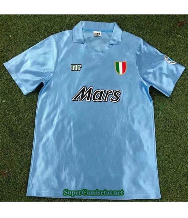Tailandia Primera Equipacion Camiseta Clasicas Napoli Hombre 1990 91