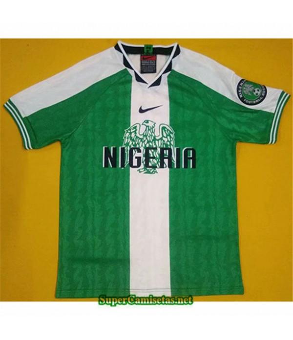 Tailandia Primera Equipacion Camiseta Clasicas Nigeria Hombre 1996