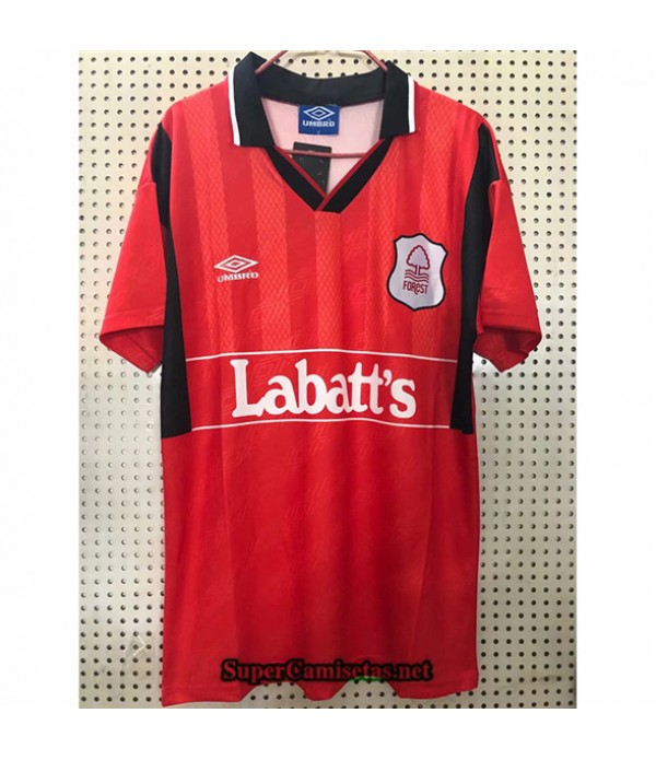 Tailandia Primera Equipacion Camiseta Clasicas Nottingham Forest Hombre 1994 95