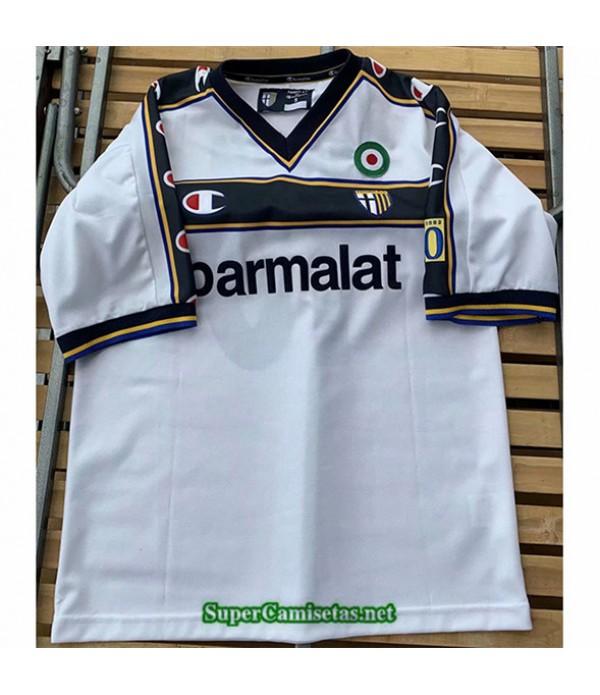 Tailandia Primera Equipacion Camiseta Clasicas Parma Hombre 2001 02
