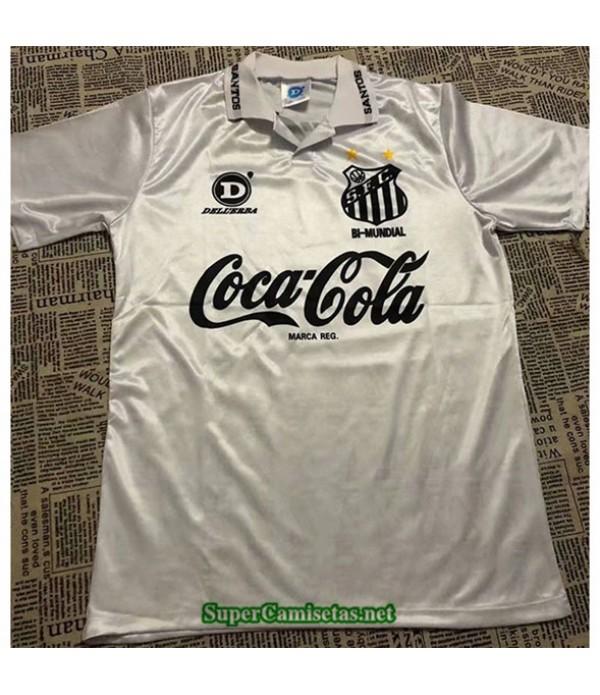 Tailandia Primera Equipacion Camiseta Clasicas Santos Hombre 1993