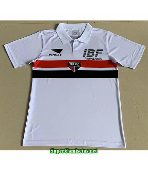 Tailandia Primera Equipacion Camiseta Clasicas Sao Paulo Hombre 1991