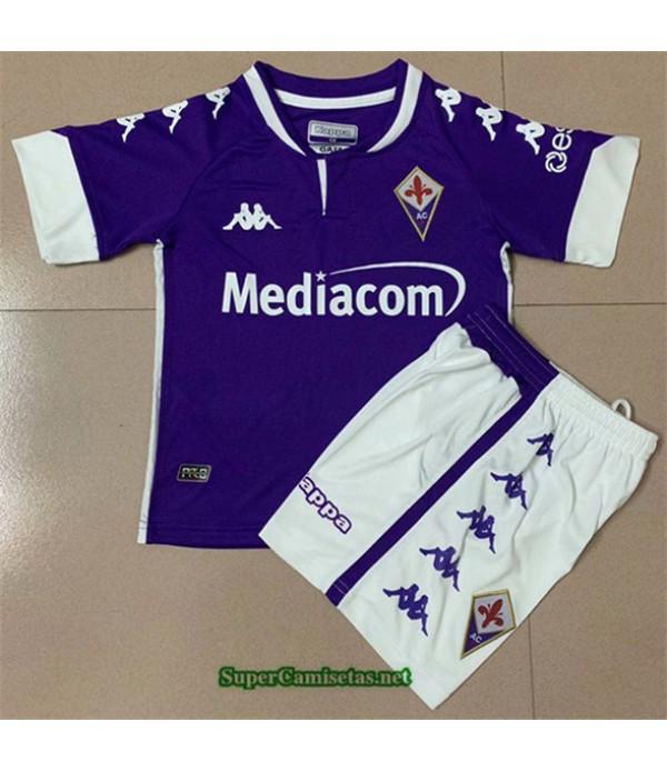 Tailandia Primera Equipacion Camiseta Fiorentina Niño 2020/21