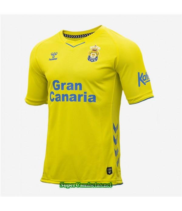 Tailandia Primera Equipacion Camiseta Las Palmas Amarillo 2020/21