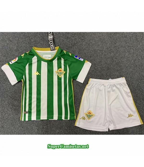 Tailandia Primera Equipacion Camiseta Real Betis Niños 2020/21