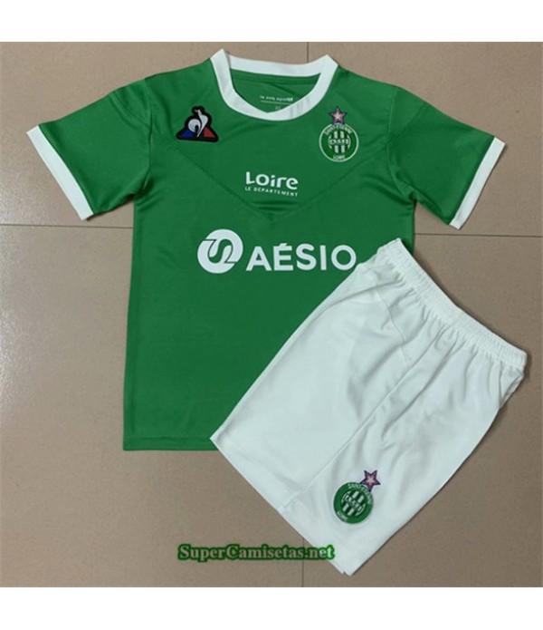 Tailandia Primera Equipacion Camiseta Santo Etienne Niños 2020/21