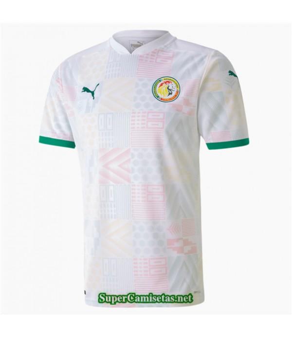 Tailandia Primera Equipacion Camiseta Senegal Blanco 2020/21