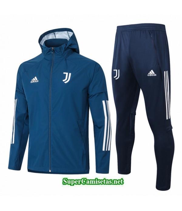 Tailandia Rompevientos Juventus Azul Oscuro 2020/21