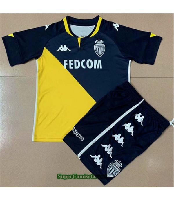 Tailandia Segunda Equipacion Camiseta As Monaco Niño 2020/21