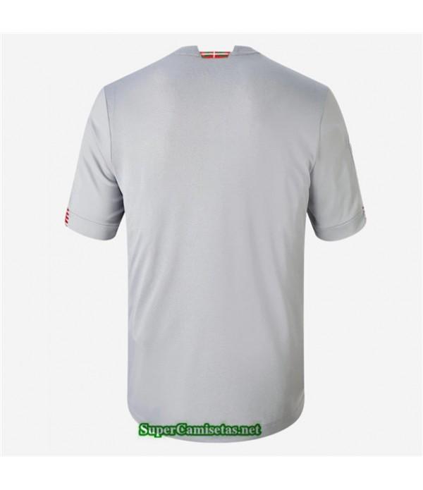 Tailandia Segunda Equipacion Camiseta Athletic Bilbao Gris 2020/21
