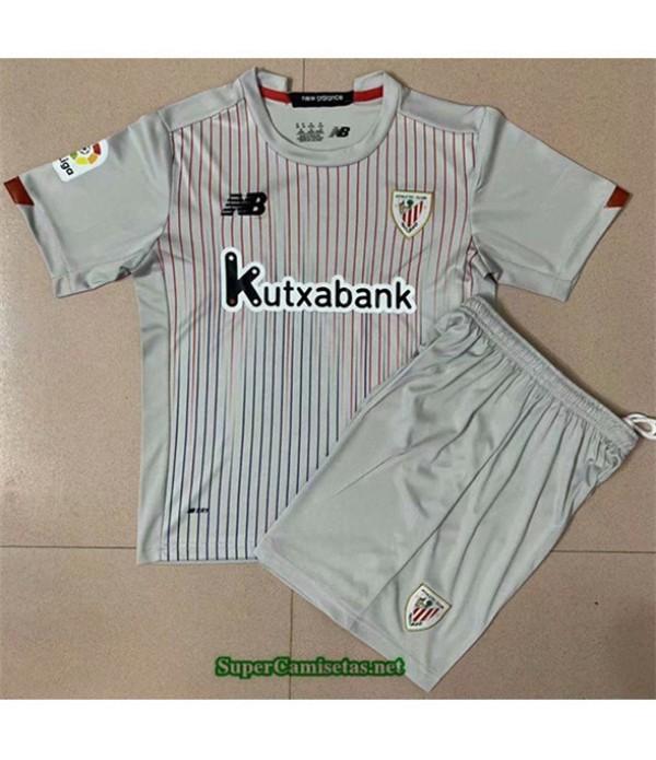 Tailandia Segunda Equipacion Camiseta Athletic Bilbao Niños 2020/21