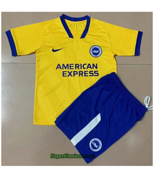 Tailandia Segunda Equipacion Camiseta Brighton Niño 2020/21