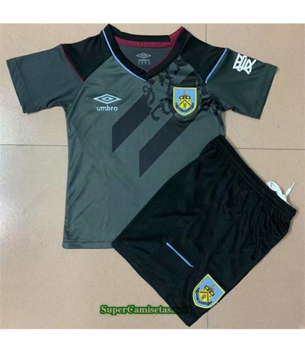 Tailandia Segunda Equipacion Camiseta Burnley Niño 2020/21