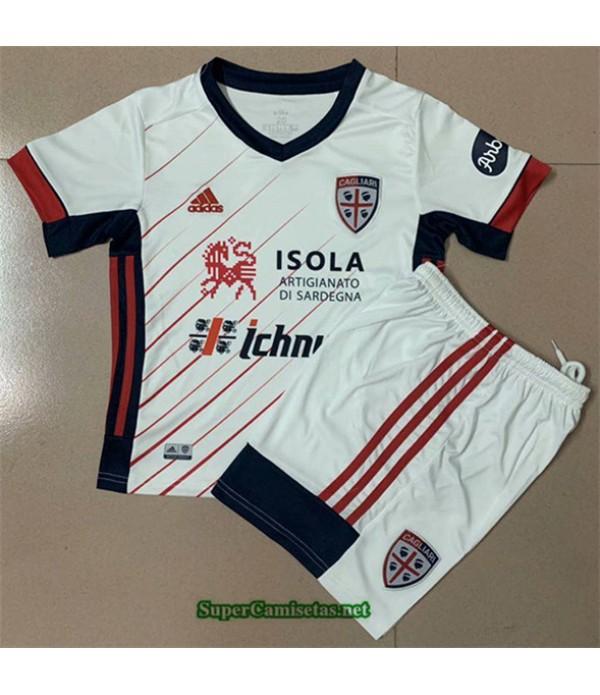 Tailandia Segunda Equipacion Camiseta Cagliari Niño 2020/21