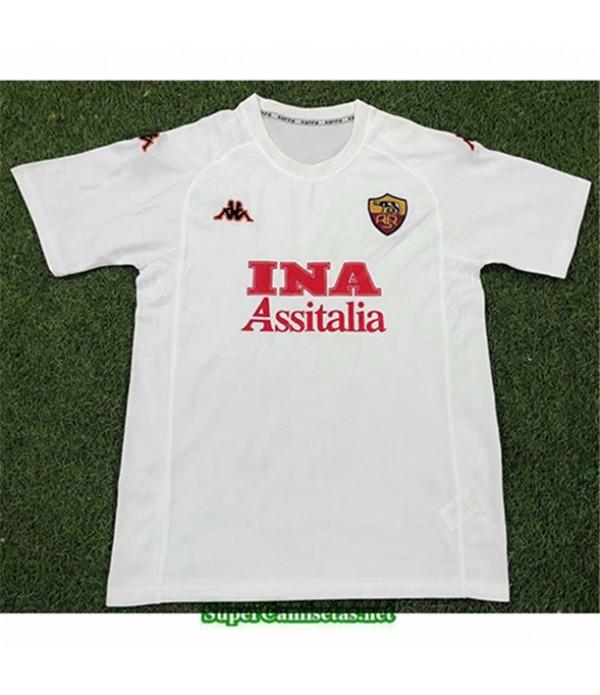 Tailandia Segunda Equipacion Camiseta Clasicas As Roma Hombre 2000 01