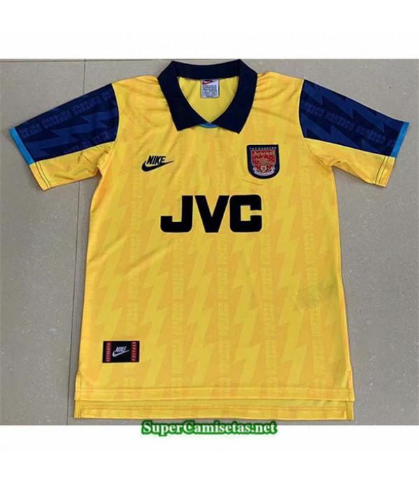 Tailandia Segunda Equipacion Camiseta Clasicas Arsenal Hombre 1994