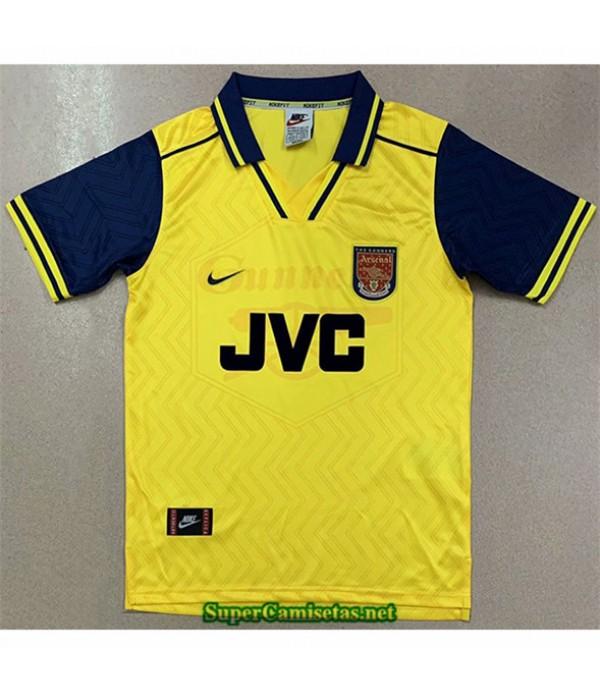 Tailandia Segunda Equipacion Camiseta Clasicas Arsenal Hombre 1996