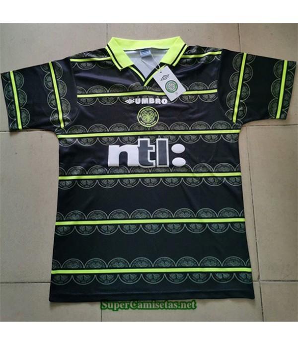 Tailandia Segunda Equipacion Camiseta Clasicas Celtic Hombre 1999 00