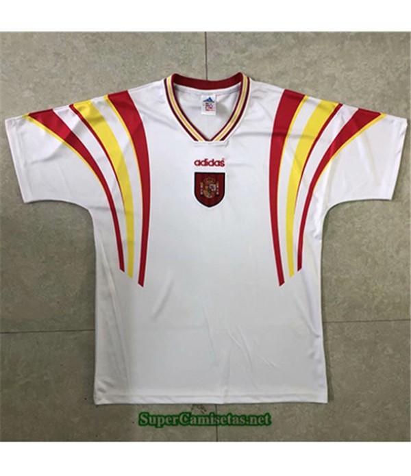 Tailandia Segunda Equipacion Camiseta Clasicas España Hombre 1996