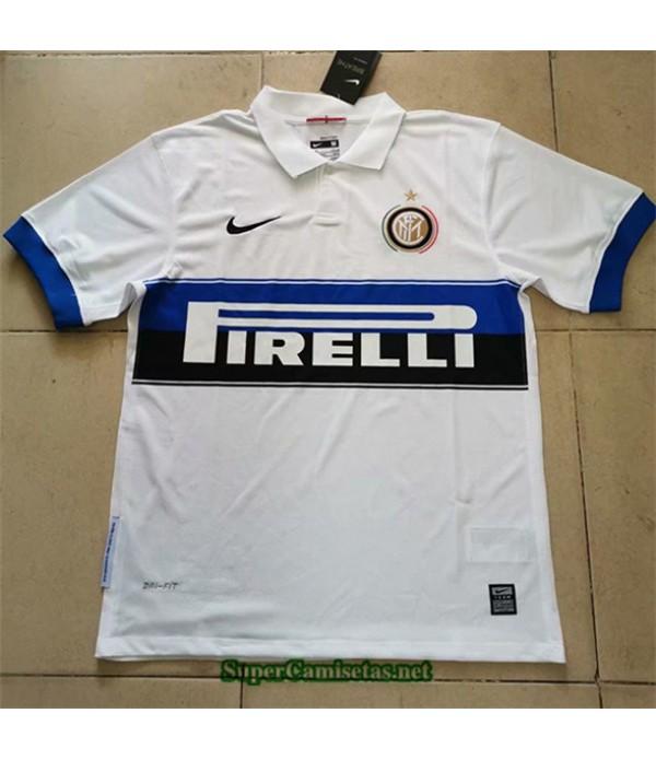 Tailandia Segunda Equipacion Camiseta Clasicas Inter Milan Hombre 2009 10