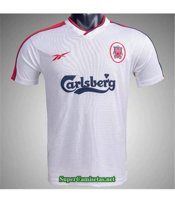 Tailandia Segunda Equipacion Camiseta Clasicas Liverpool Hombre 1998 99