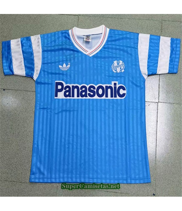 Tailandia Segunda Equipacion Camiseta Clasicas Marsella Hombre 1990