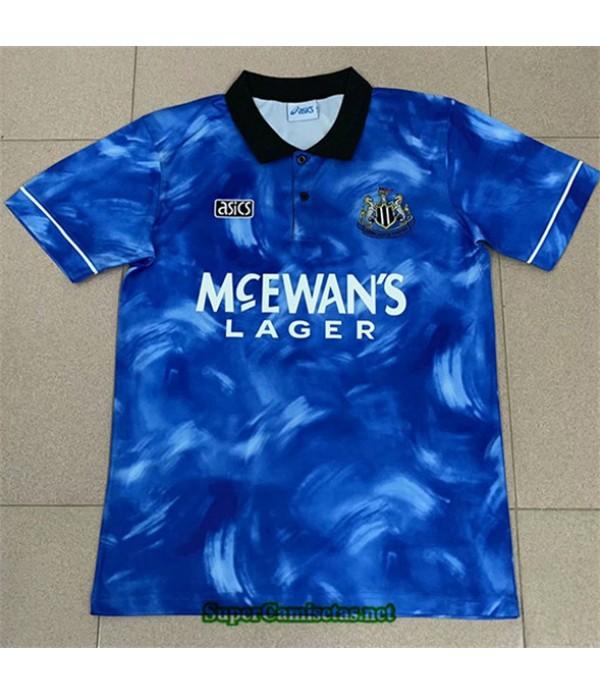 Tailandia Segunda Equipacion Camiseta Clasicas Newcastle United Hombre 1994