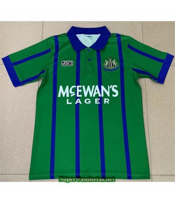 Tailandia Segunda Equipacion Camiseta Clasicas Newcastle United Hombre 1995