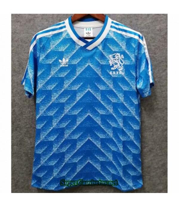 Tailandia Segunda Equipacion Camiseta Clasicas Países Bajos Hombre 1990