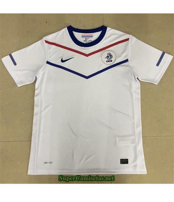 Tailandia Segunda Equipacion Camiseta Clasicas Países Bajos Hombre 2010