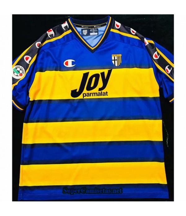 Tailandia Segunda Equipacion Camiseta Clasicas Parma Hombre 2001 02
