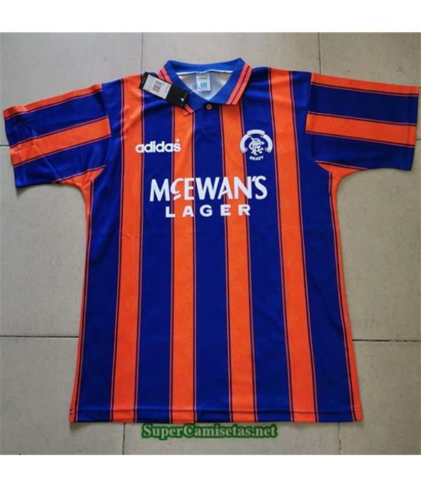 Tailandia Segunda Equipacion Camiseta Clasicas Rangers Hombre 1993 94