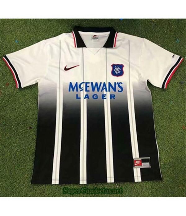 Tailandia Segunda Equipacion Camiseta Clasicas Rangers Hombre 1997 99